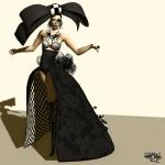 Aleida – Falling Apart Gown001