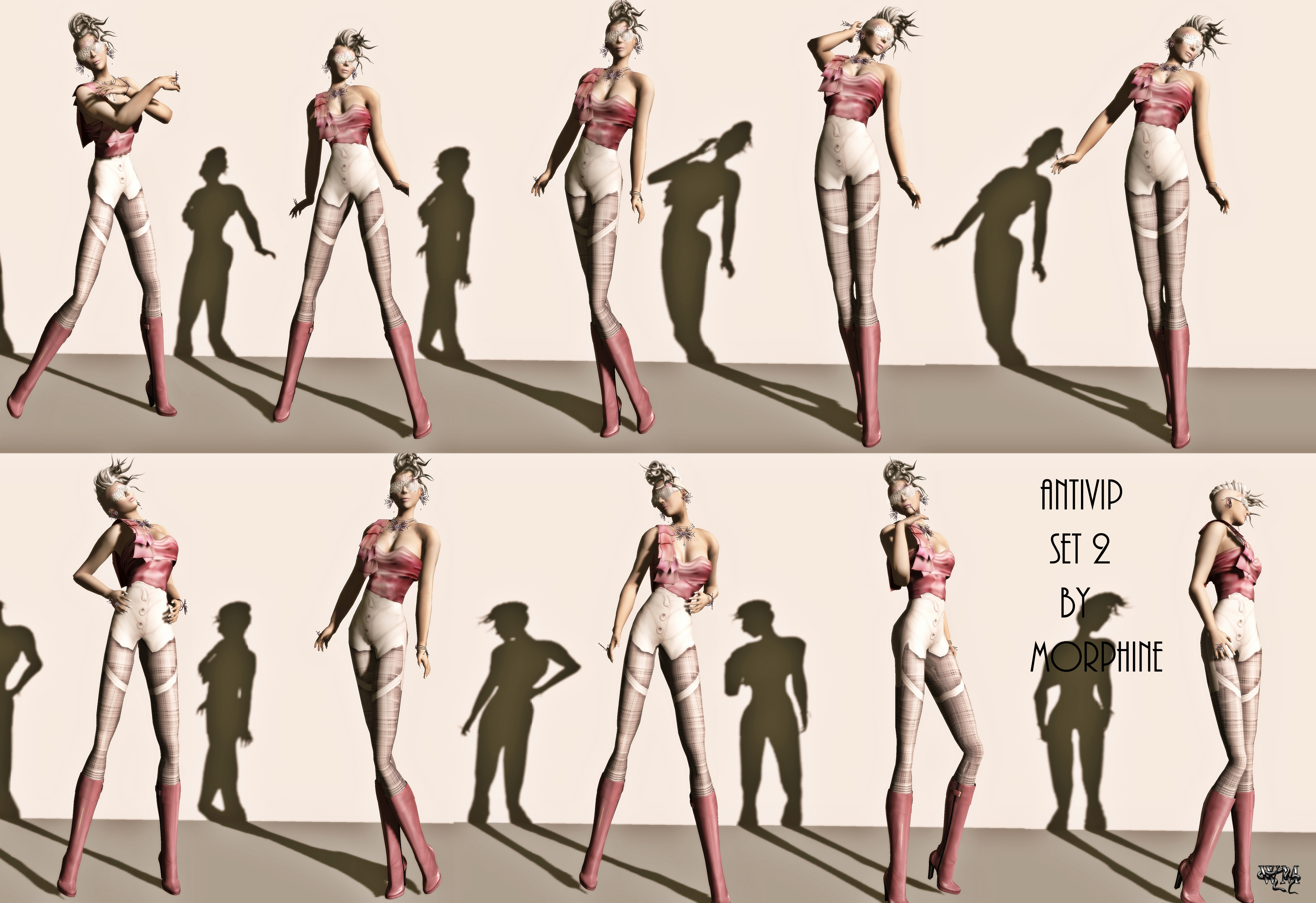 Awesome Fashion Show Runway Poses