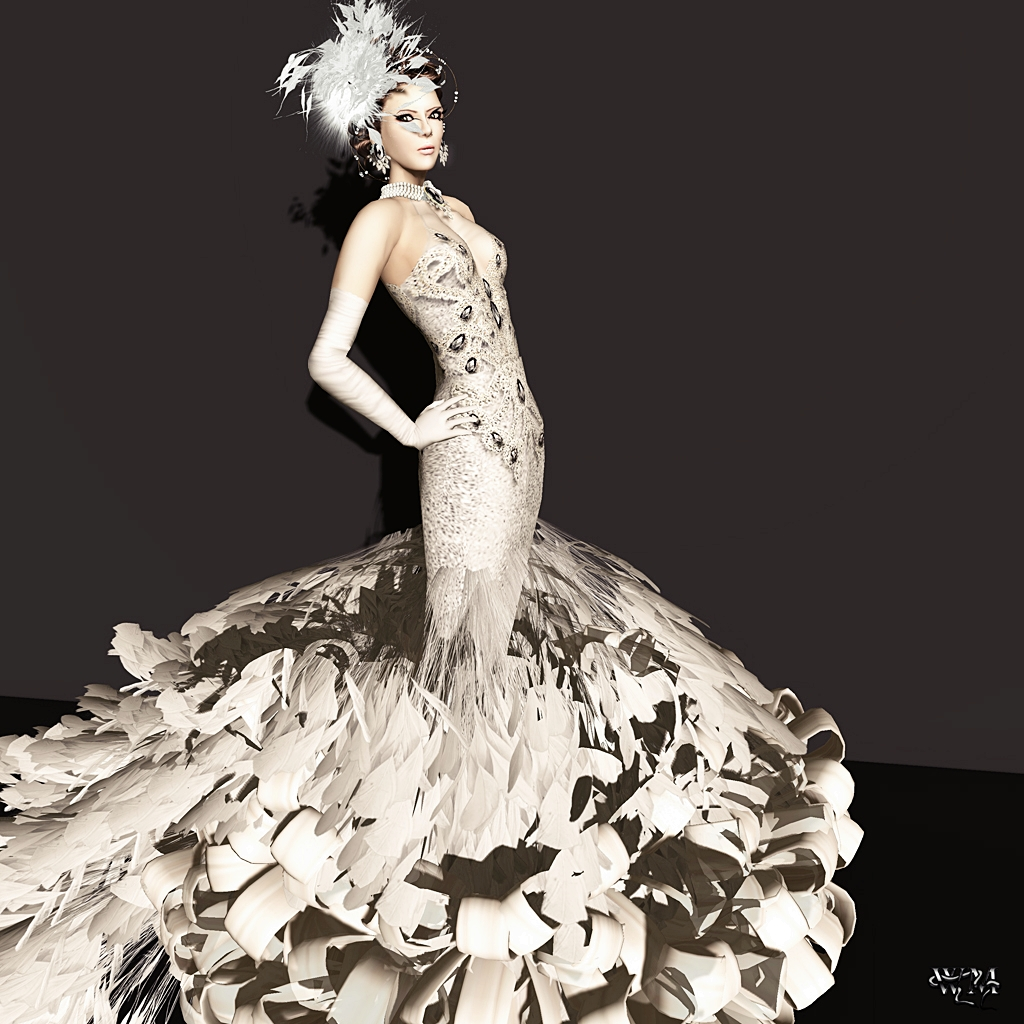 4081600016b333 MVW 2012  Evening Gown for Miss Turkey 2012 by Tres Beau