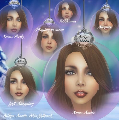 Silken Moon Santa Gift Ad