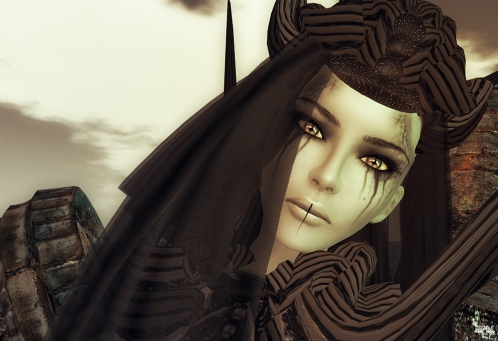 Wicca Siren face